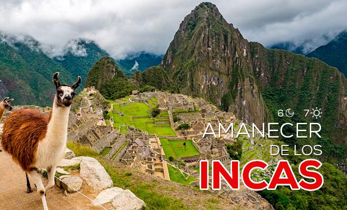 amanecer de los incas 6 noches